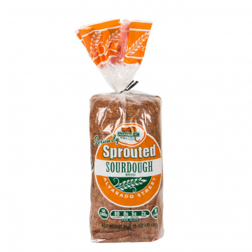 Alvarado Street Bakery Sprouted Sourdough Bread,  Sliced