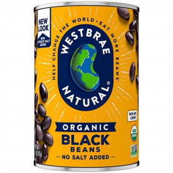Westbrae Black Beans, 15 oz