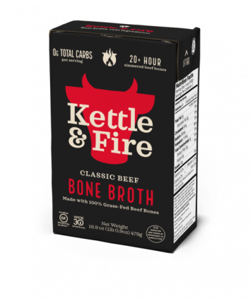 Kettle & Fire Classic Beef Bone Broth