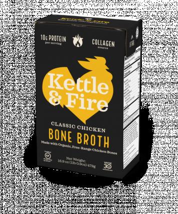 Kettle & Fire Classic Chicken Bone Broth