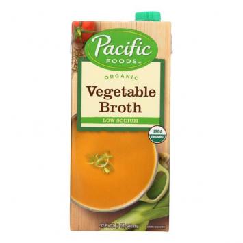 Pacific Organic Vegetable Broth, Low Sodium