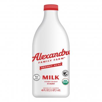 Alexandre Family Farm Whole Milk, A2, 6%, 48 fl oz