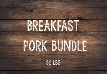 Red Velvet Pork Breakfast Bundle