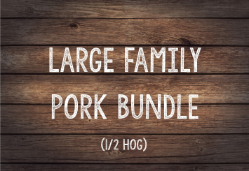 Large Family Red Velvet Pork Bundle