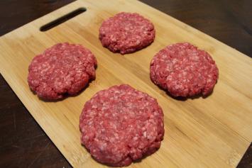 85% Lean Ground Beef Patties