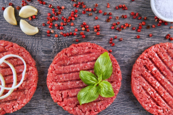 Beef Hamburger Patties