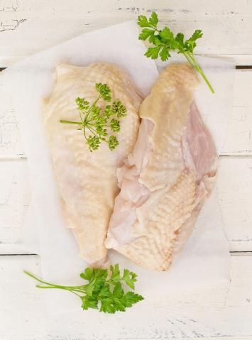 Chicken Breasts (Bone-in, Skin-on)