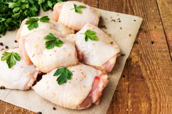 Chicken Thighs (Bone-in, Skin-on)