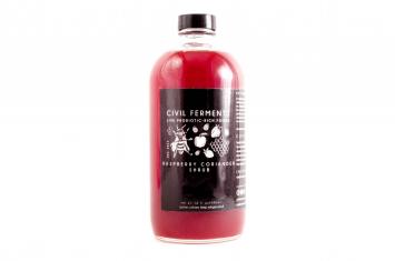 Raspberry Coriander Shrub