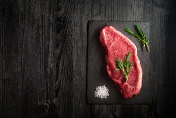 Bison NY Strip Steak