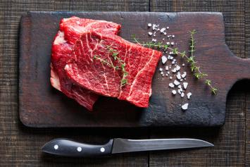 Grass-Fed Beef Flat Iron Steak