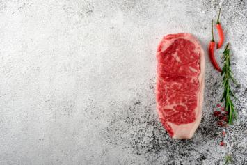 Grass-Fed Beef NY Strip Steak