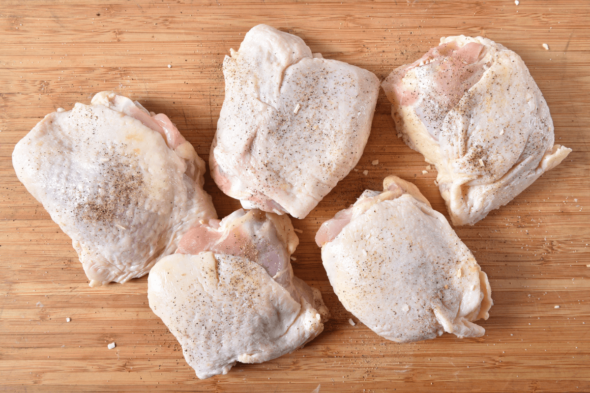 Pack of 4 Chicken Thighs (avg. 1.5lb.)