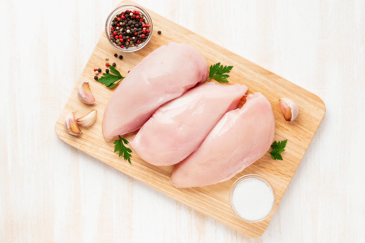 Pack of 2 Chicken Breasts (avg. 1lb)