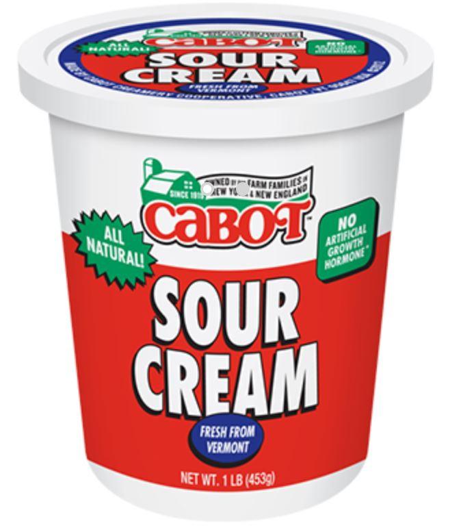 Cabot Sour Cream