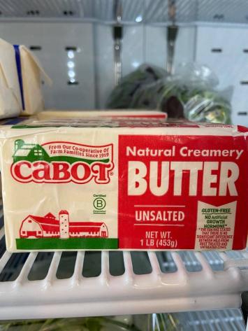 Butter, Unsalted 1 lb.