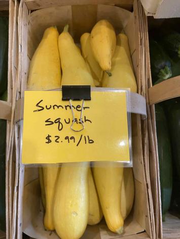 Squash, Summer