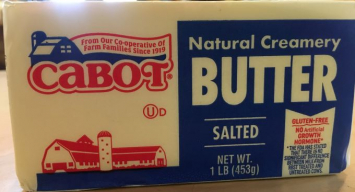 Butter, Salted 1 lb.