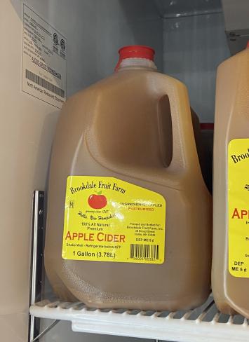 Apple Cider, Gallon