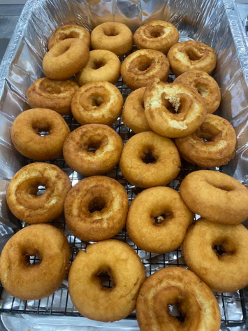 Freshly Made Doughnuts, 4 pack