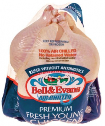 Bell and Evans whole chicken
