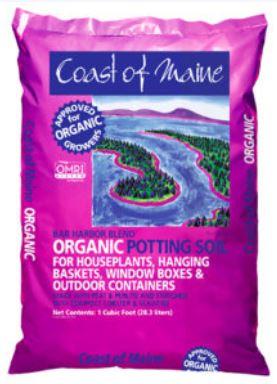 Bar Harbor Organic Potting Soil - 1 cu. ft. bag