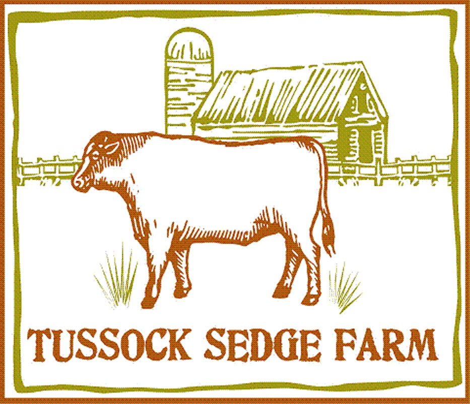 Tussock Sedge Farm Logo