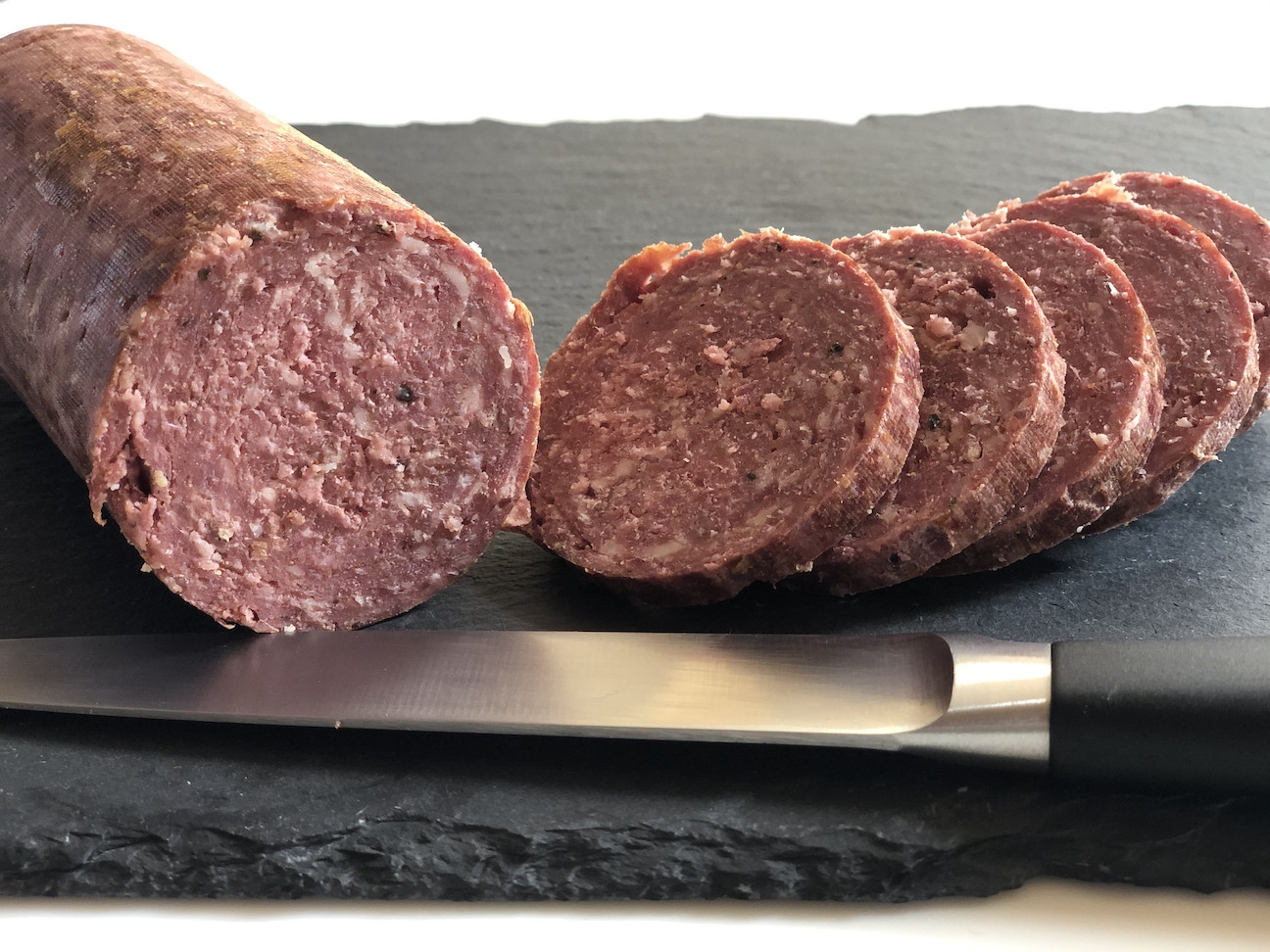 Beef and Pork Summer Sausage - Uncured & Smoked