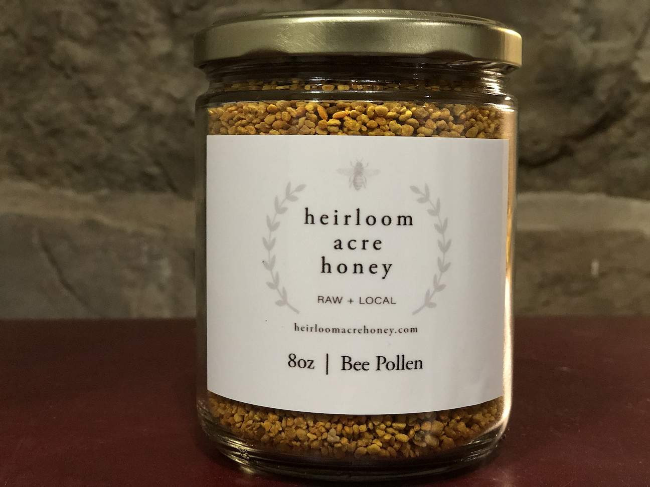 Raw, Local Bee Pollen