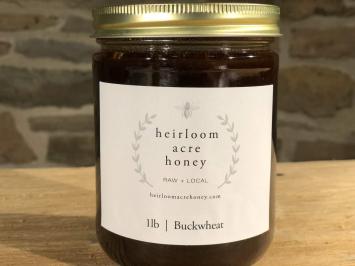Raw, Local Honey - Buckwheat