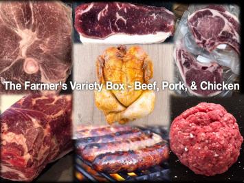 Farmer's Variety Box - Beef, Pork & Chicken - Small