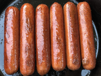 100% Grass Fed Beef Hot Dogs, Uncured & Smoked