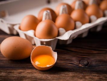 1 Dozen Organic Pasture Raised Eggs