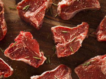 Grass Fed Lamb Loin Chops (Bone-In)