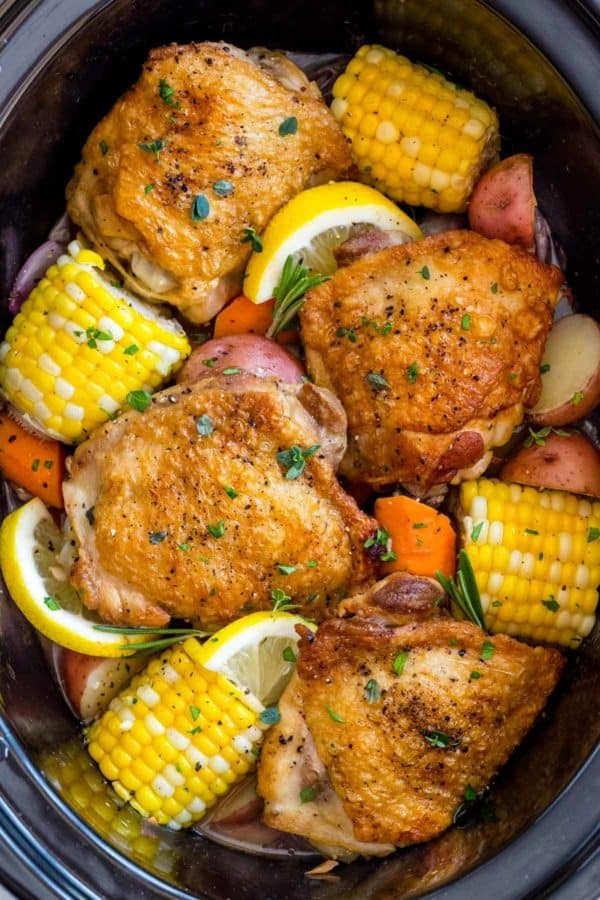 Crock pot chicken thighs!