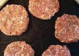 Brat Burger Patties