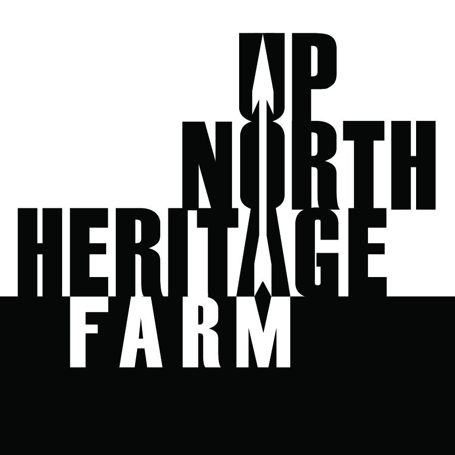 Up North Heritage Farm Logo