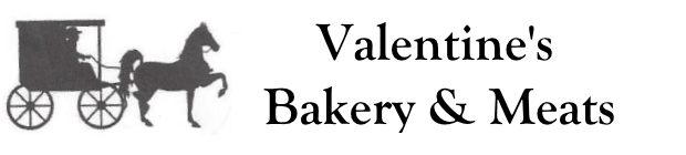 Valentine's Bakery and Meats Logo