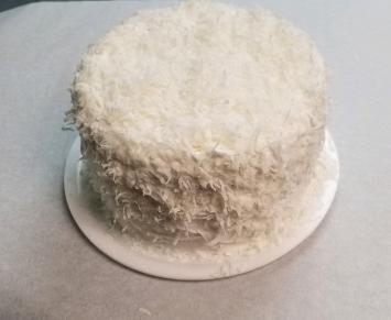 Three- layer Coconut Cake
