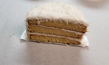 1/2 Three-layer Coconut Cake