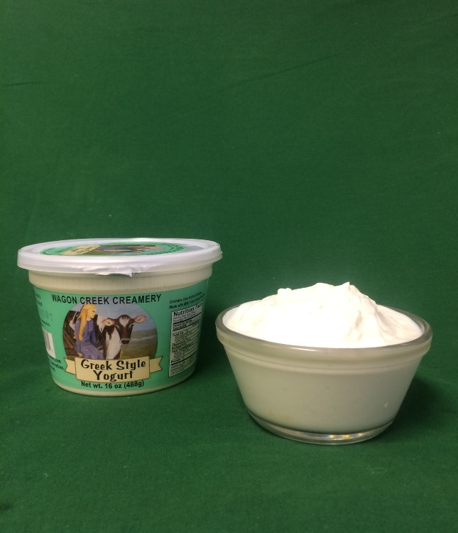 Greek Yogurt Whole Milk Pint