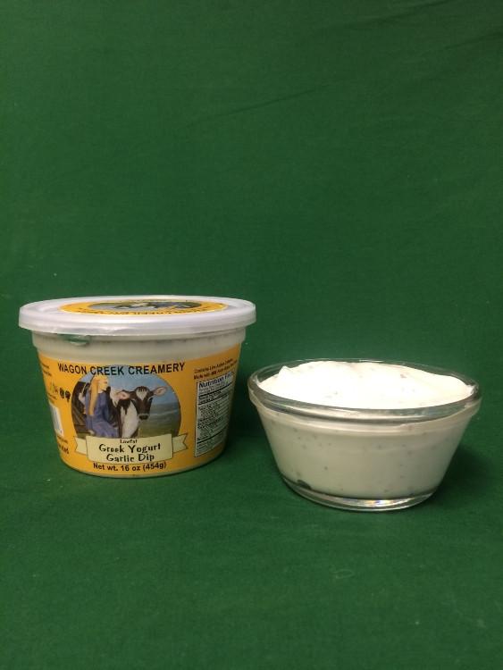 Greek Yogurt Garlic Dip