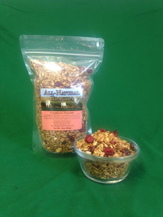 Granola 1# Cranberry