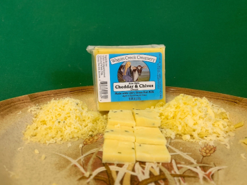 Raw Milk Cheddar and Chives