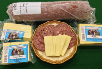 A Beef Summer Sausage / Cheese Combo