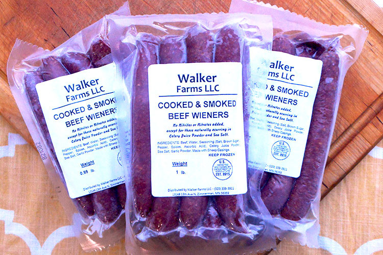 Cooked & Smoked Beef Wieners