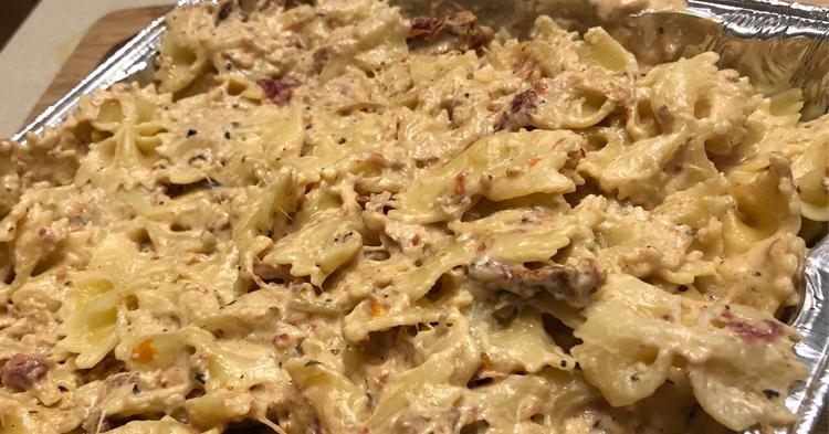 20 Minute Tuscan Chicken Pasta