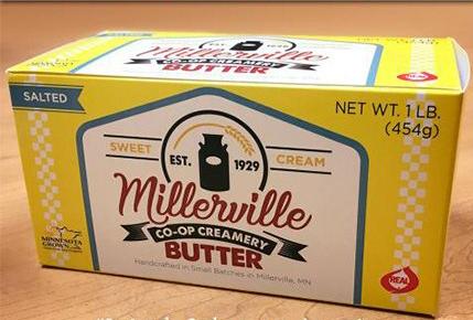 Butter - Millerville Co-Op Creamery