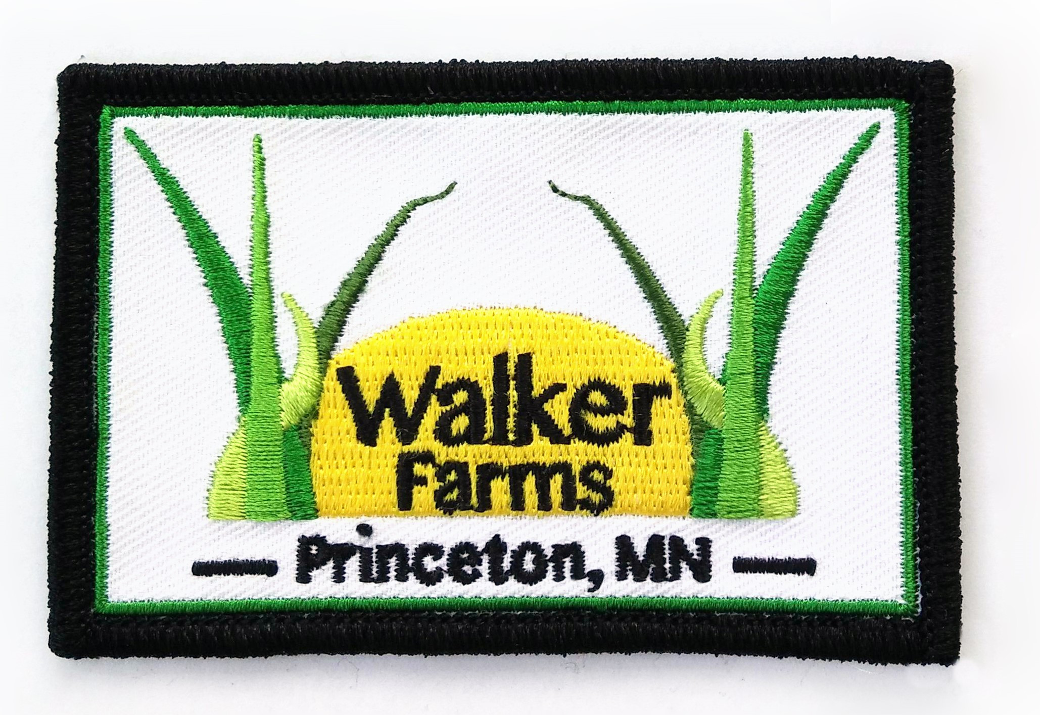 Embroidered Patch - Walker Farms, Princeton, MN