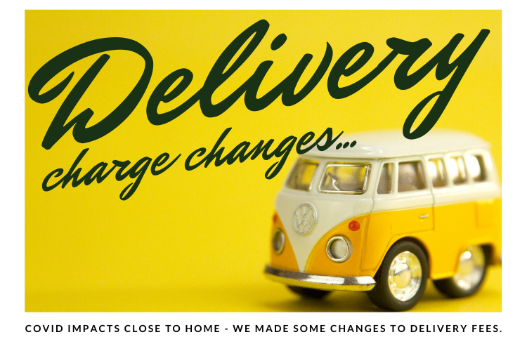 Delivery Charge Changes